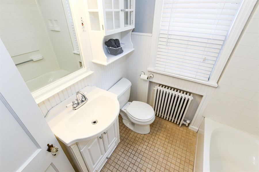 Real Estate Photography - 302 Birmingham Ave, Wilmington, DE, 19804 - Full Bath 1st Floor