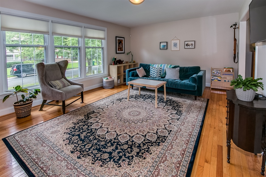 Real Estate Photography - 2911 Bodine Dr, Wilmington, DE, 19810 - Living Room