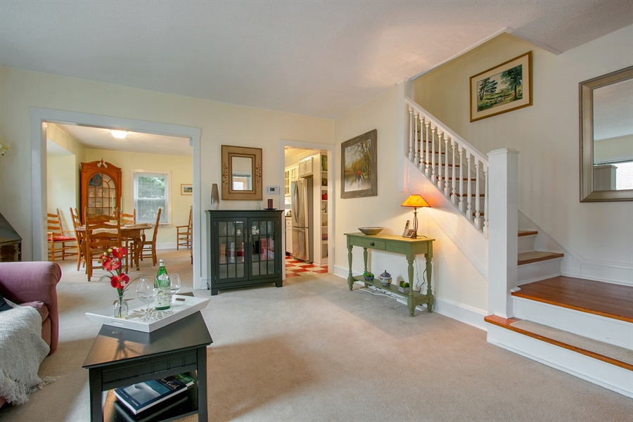 Real Estate Photography - 433 S Bancroft Pkwy, Wilmington, DE, 19805 - Inviting Open Floor Plan