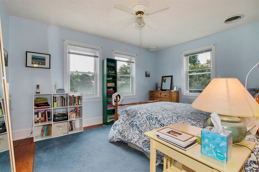 Real Estate Photography - 433 S Bancroft Pkwy, Wilmington, DE, 19805 - Owners Bedroom W/ Plenty of Windows
