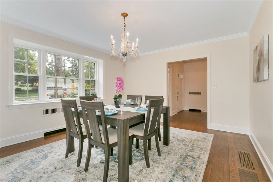Real Estate Photography - 915 Westover Rd, Wilmington, DE, 19807 - Large Dining Room