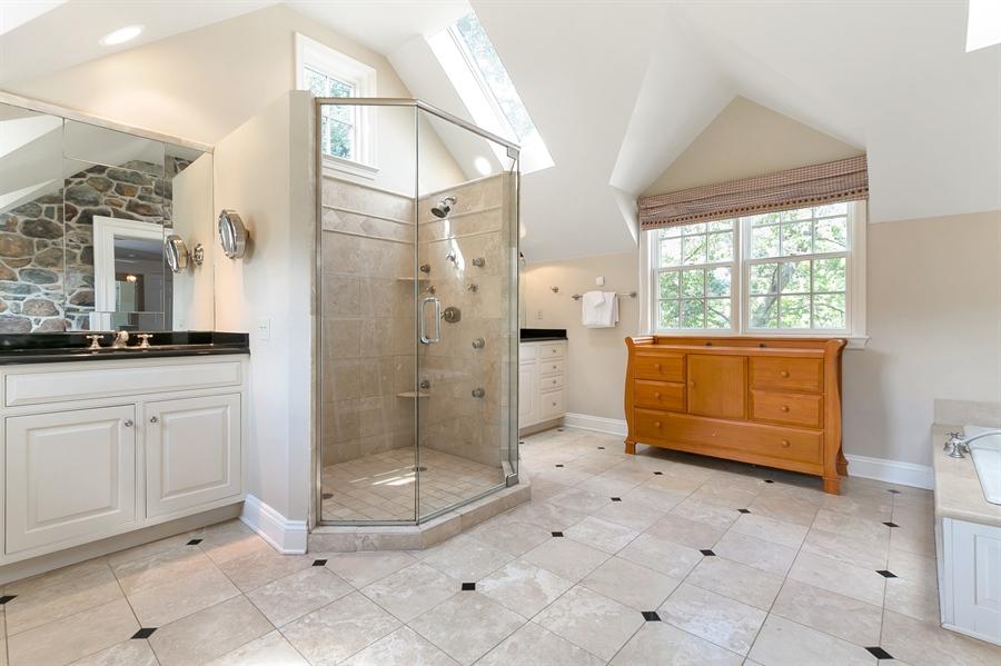 Real Estate Photography - 915 Westover Rd, Wilmington, DE, 19807 - Spa Like Master Bath
