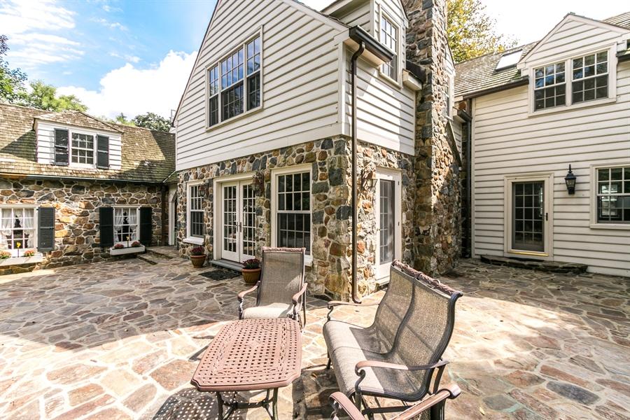 Real Estate Photography - 915 Westover Rd, Wilmington, DE, 19807 - Beautiful Rear Terrace