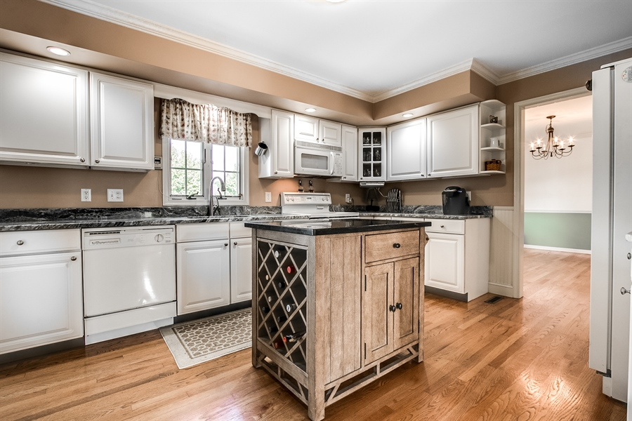 Real Estate Photography - 108 Philip Dr, Bear, DE, 19701 - Updated Kitchen