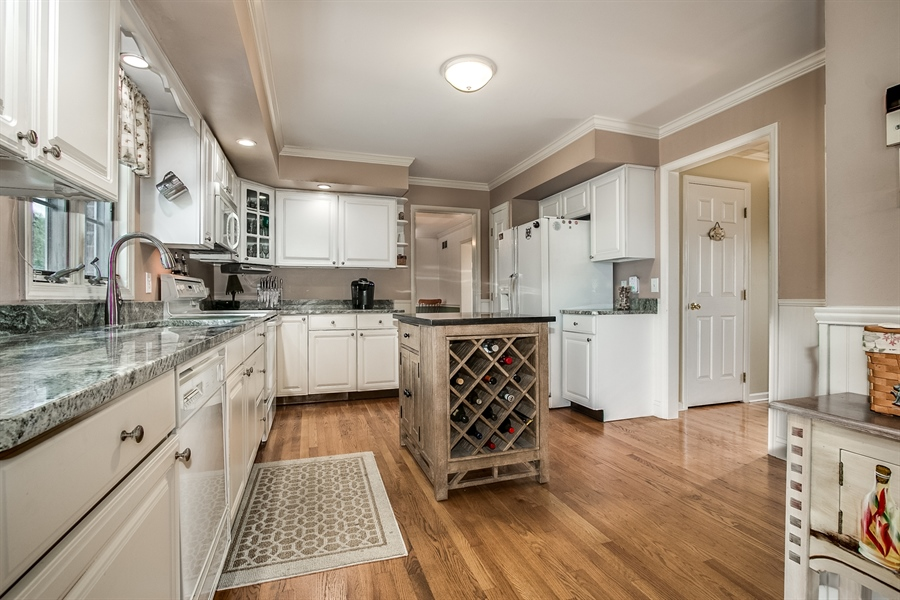 Real Estate Photography - 108 Philip Dr, Bear, DE, 19701 - Kitchen with Granite Counters