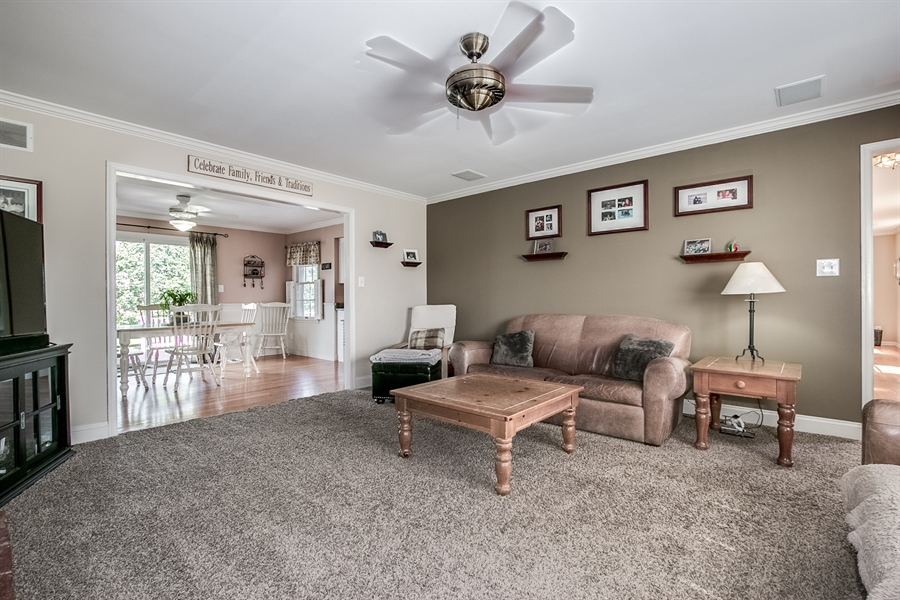 Real Estate Photography - 108 Philip Dr, Bear, DE, 19701 - Family Room