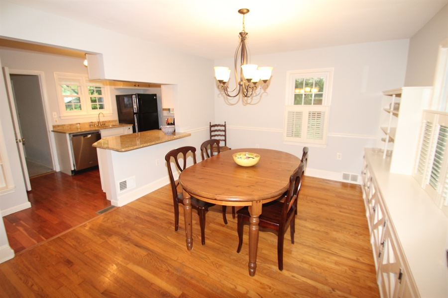 Real Estate Photography - 436 Orchard Rd, Newark, DE, 19711 - Dining Room