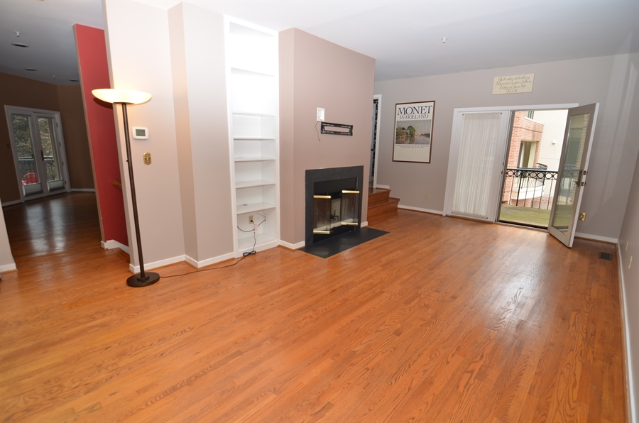 Real Estate Photography - 1219 Shallcross Ave, Wilmington, DE, 19806 - Living Room with Balcony