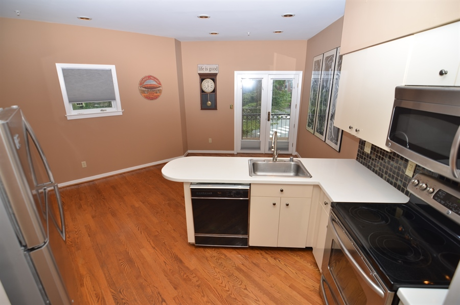 Real Estate Photography - 1219 Shallcross Ave, Wilmington, DE, 19806 - Updated Kitchen