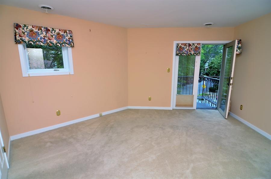 Real Estate Photography - 1219 Shallcross Ave, Wilmington, DE, 19806 - Bedroom 2 with Balcony