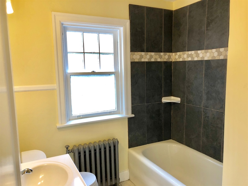Real Estate Photography - 318 W 36th St, Wilmington, DE, 19802 - Brand new full bath