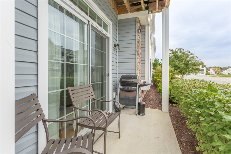 Real Estate Photography - 37684 Ulster Drive #1, 1, Rehoboth Beach, DE, 19971 - Covered Patio- Grilling This Floor Only