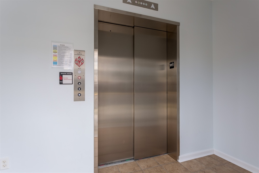 Real Estate Photography - 37684 Ulster Drive #1, 1, Rehoboth Beach, DE, 19971 - Elevator for Building