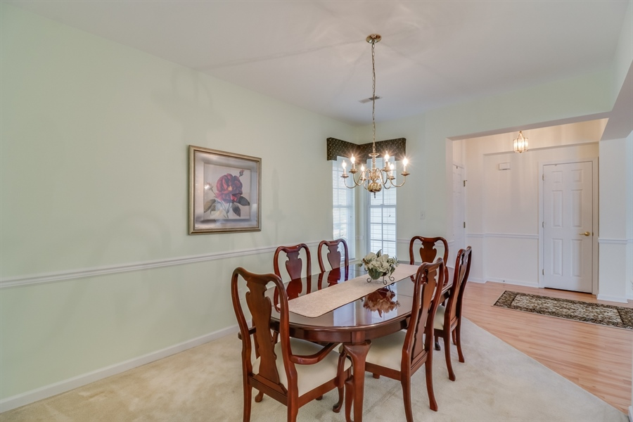 Real Estate Photography - 104 Dawn Ct, Middletown, DE, 19709 - Dining Room