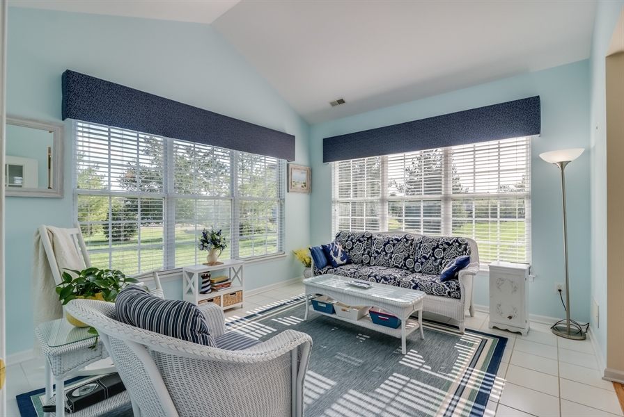 Real Estate Photography - 104 Dawn Ct, Middletown, DE, 19709 - Sun Room