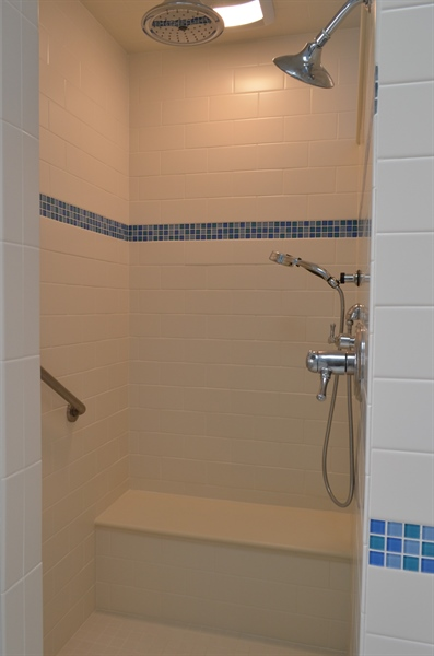 Real Estate Photography - 66 Springer Ct, Hockessin, DE, 19707 - The Perfect Shower!