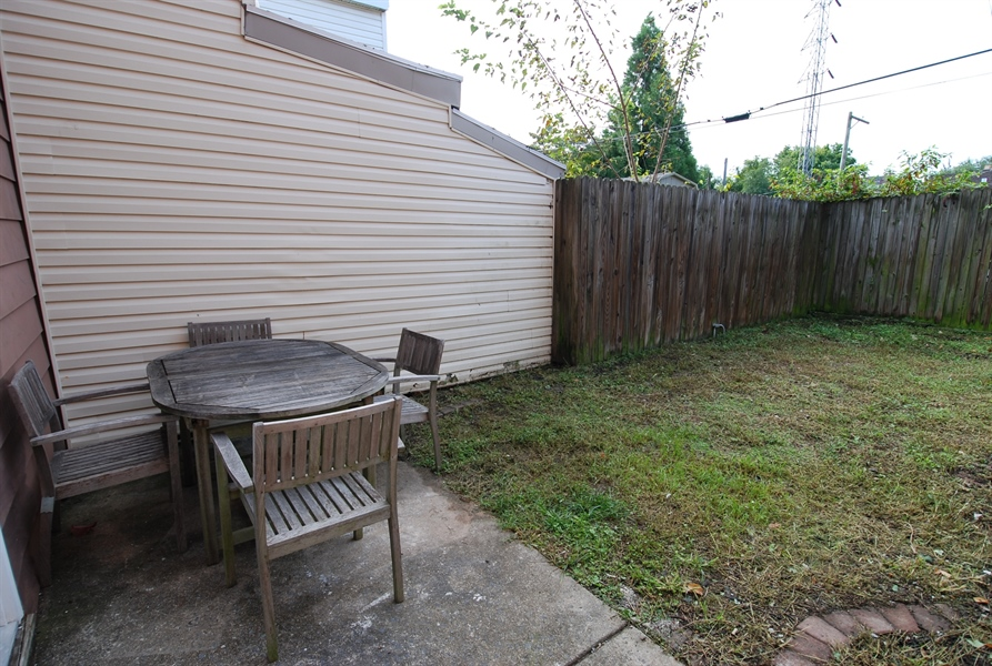 Real Estate Photography - 1804 W 16th St, Wilmington, DE, 19806 - private backyard