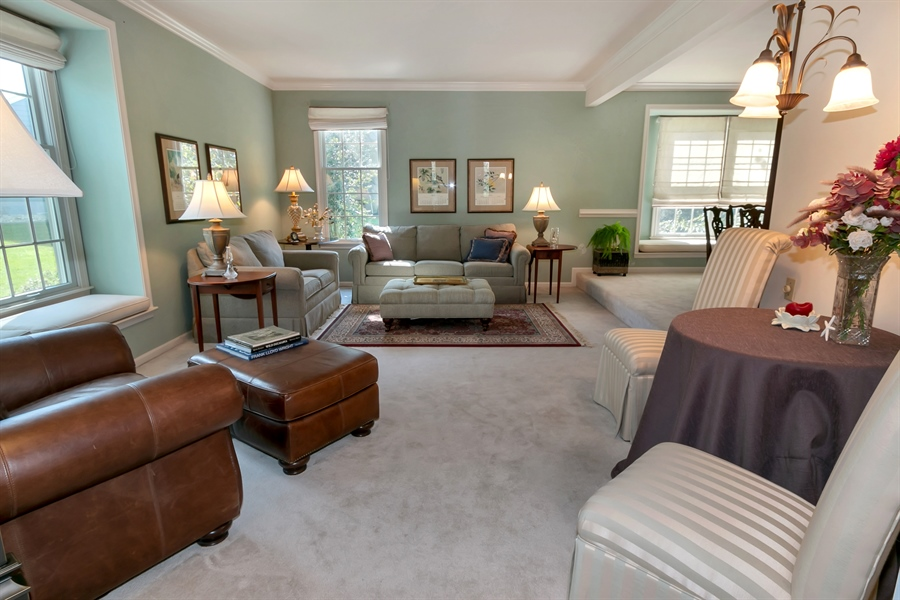 Real Estate Photography - 22 Harris Cir, Newark, DE, 19711 - Formal Living Room