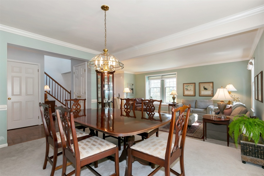 Real Estate Photography - 22 Harris Cir, Newark, DE, 19711 - Formal Dining Room