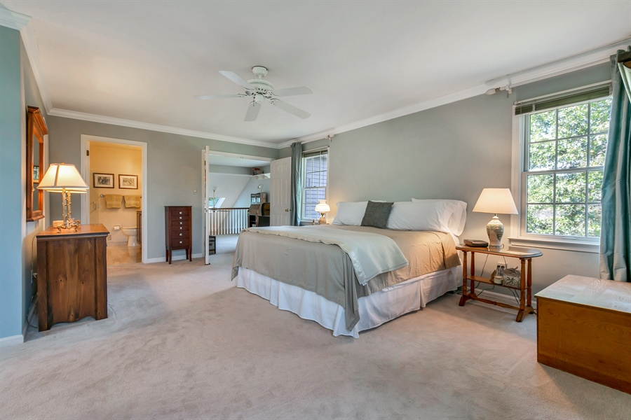 Real Estate Photography - 22 Harris Cir, Newark, DE, 19711 - Master Bedroom