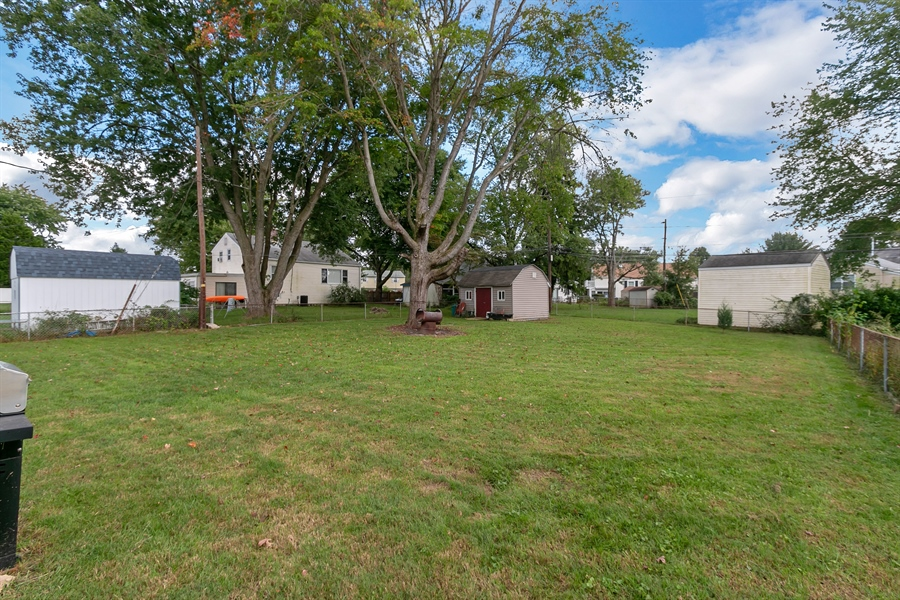 Real Estate Photography - 409 Rosewood Dr, Newark, DE, 19713 - Fully fenced, double gated entry, shed included