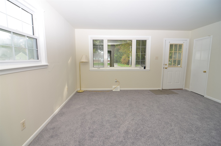 Real Estate Photography - 2384 2Nd Avenue, Boothwyn, DE, 19061 - Living Room with Large Windows