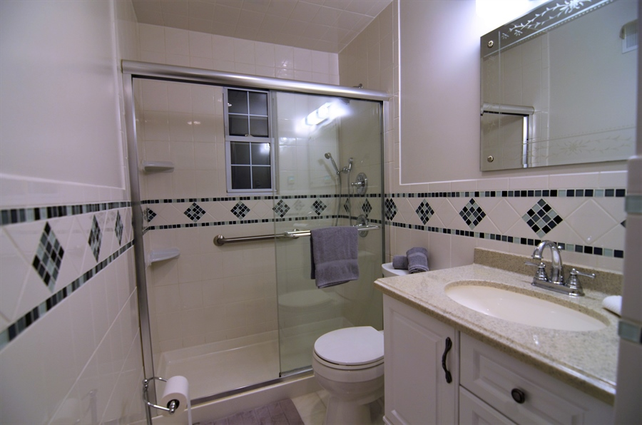 Real Estate Photography - 2384 2Nd Avenue, Boothwyn, DE, 19061 - Updated Full Bath