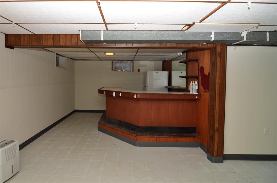 Real Estate Photography - 2384 2Nd Avenue, Boothwyn, DE, 19061 - Bar Area