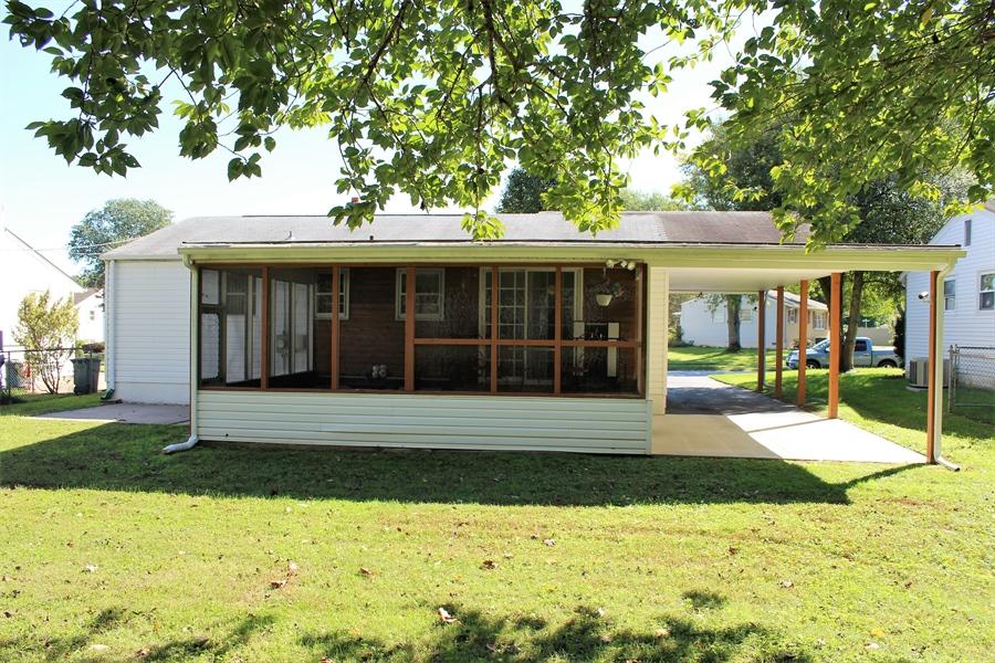 Real Estate Photography - 38 Springlake Dr, Newark, DE, 19711 - Rear of home