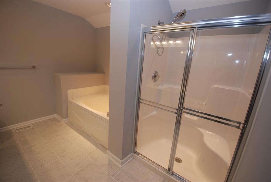 Real Estate Photography - 226 Gladstone Way, Bear, DE, 19701 - 2nd floor master bathroom