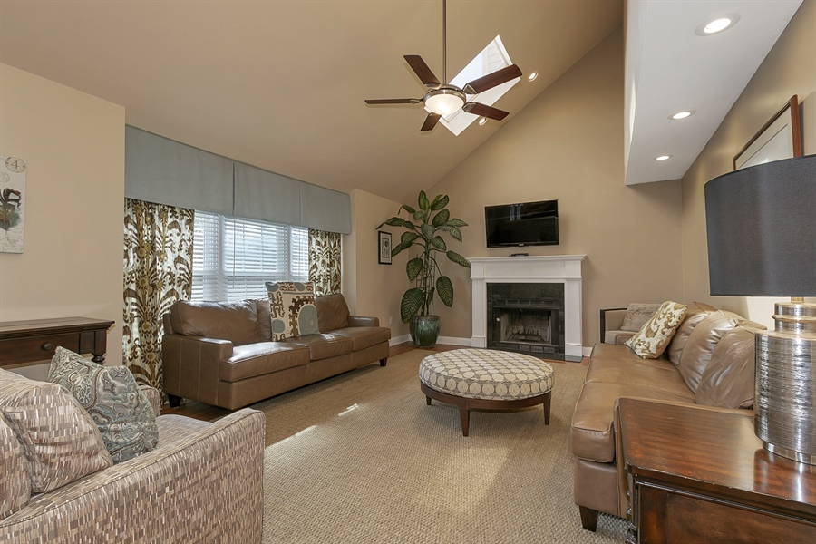Real Estate Photography - 4 Eastridge Ct, Hockessin, DE, 19707 - Spacious and Inviting Family Room