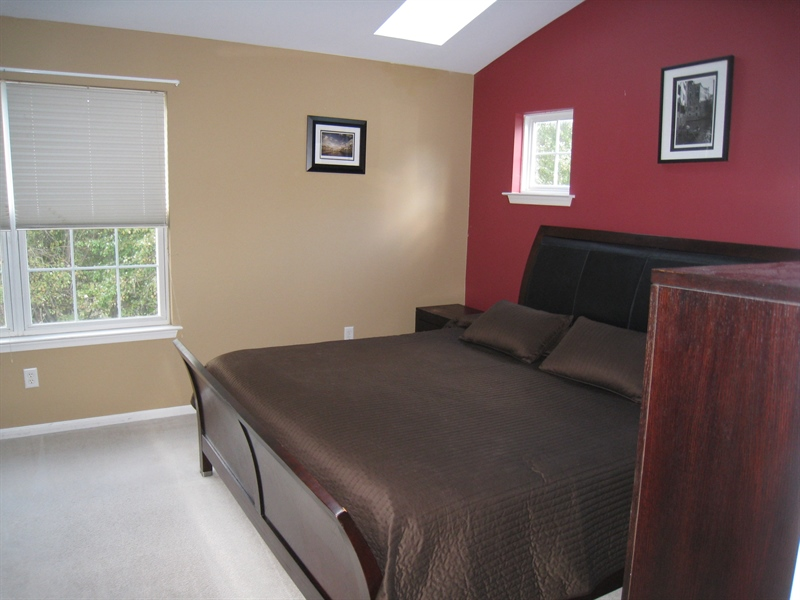 Real Estate Photography - 47 Wicklow Rd, Bear, DE, 19701 - Master bedroom w/skylights & walk in