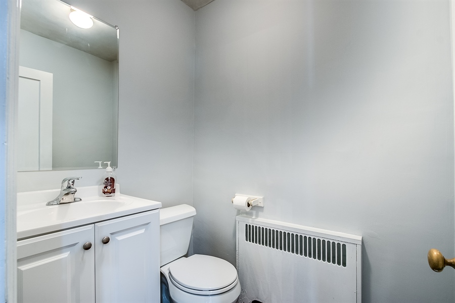Real Estate Photography - 502 Brentwood Dr, Wilmington, DE, 19803 - Updated Powder Room