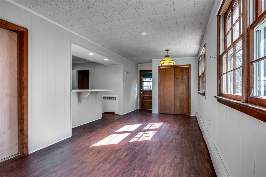 Real Estate Photography - 502 Brentwood Dr, Wilmington, DE, 19803 - New Floor in Family Room
