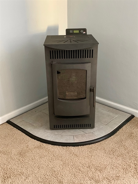 Real Estate Photography - 309 Howell Dr, New Castle, DE, 19720 - New Pellet Stove - Awesome for heating house!