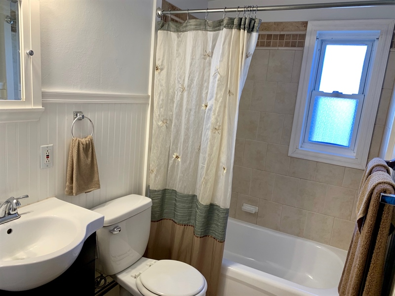 Real Estate Photography - 309 Howell Dr, New Castle, DE, 19720 - Updated Full bathroom