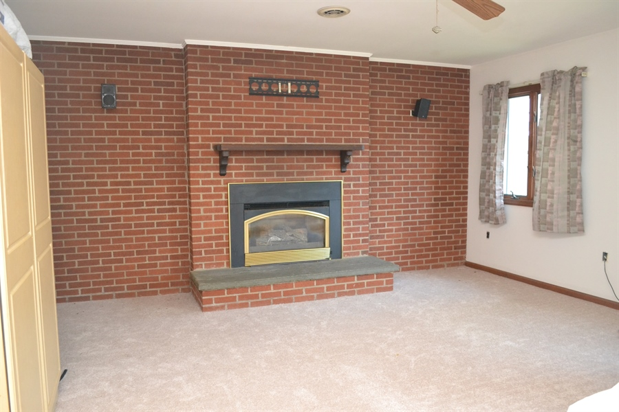 Real Estate Photography - 23 Dunbar Rd, Newark, DE, 19711 - Master Bedroom has Fireplace