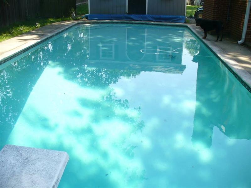 Real Estate Photography - 23 Dunbar Rd, Newark, DE, 19711 - Refreshing Pool