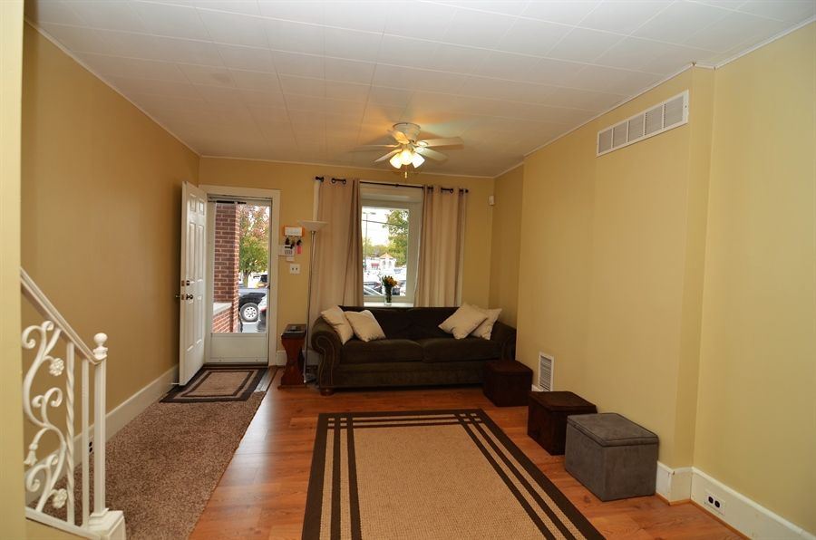 Real Estate Photography - 1832 W 11th St, Wilmington, DE, 19805 - Living Room with Bay Window