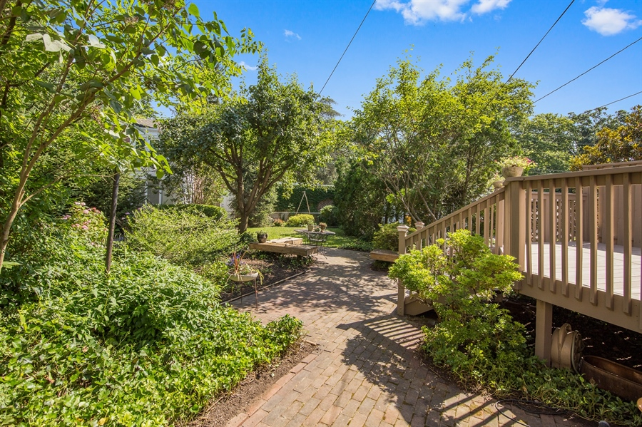 Real Estate Photography - 2417 W 18th St, Wilmington, DE, 19806 - Private, fenced-in green back yard space