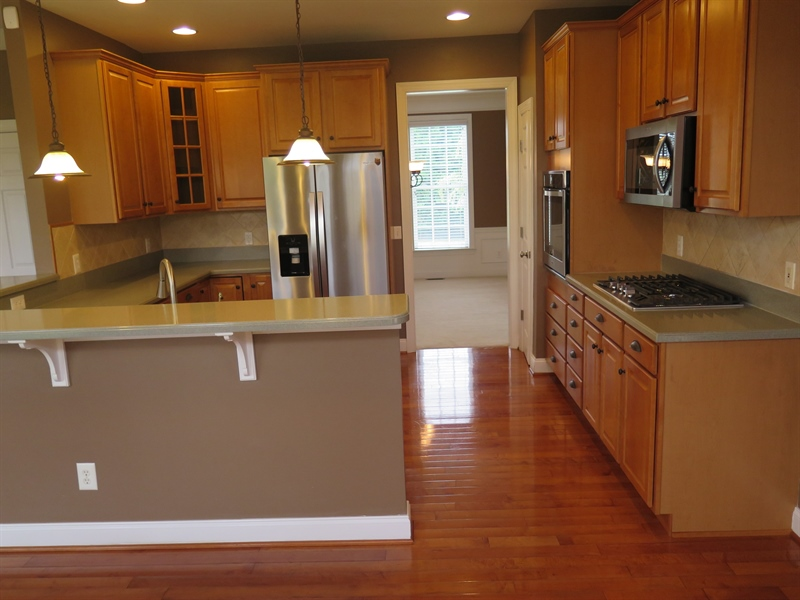 Real Estate Photography - 134 Cazier Dr, Middletown, DE, 19709 - Kitchen Alt View