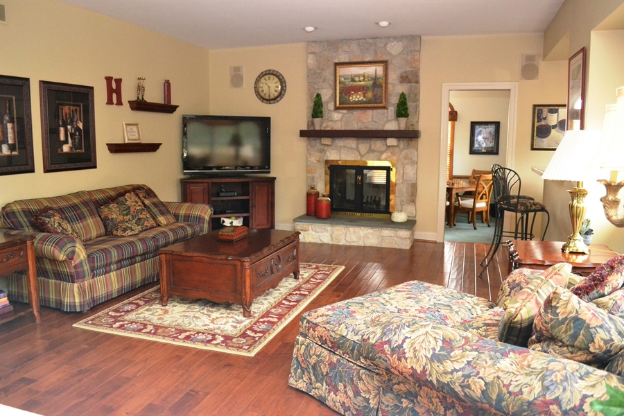 Real Estate Photography - 16 Withers Way, Hockessin, DE, 19707 - Family Room w/Hardwood Floor