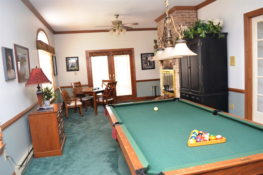 Real Estate Photography - 16 Withers Way, Hockessin, DE, 19707 - Game Room Main Level