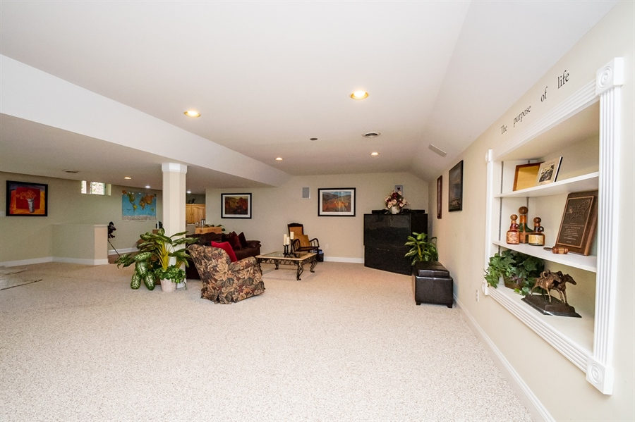 Real Estate Photography - 16 Withers Way, Hockessin, DE, 19707 - Finished Lower Level
