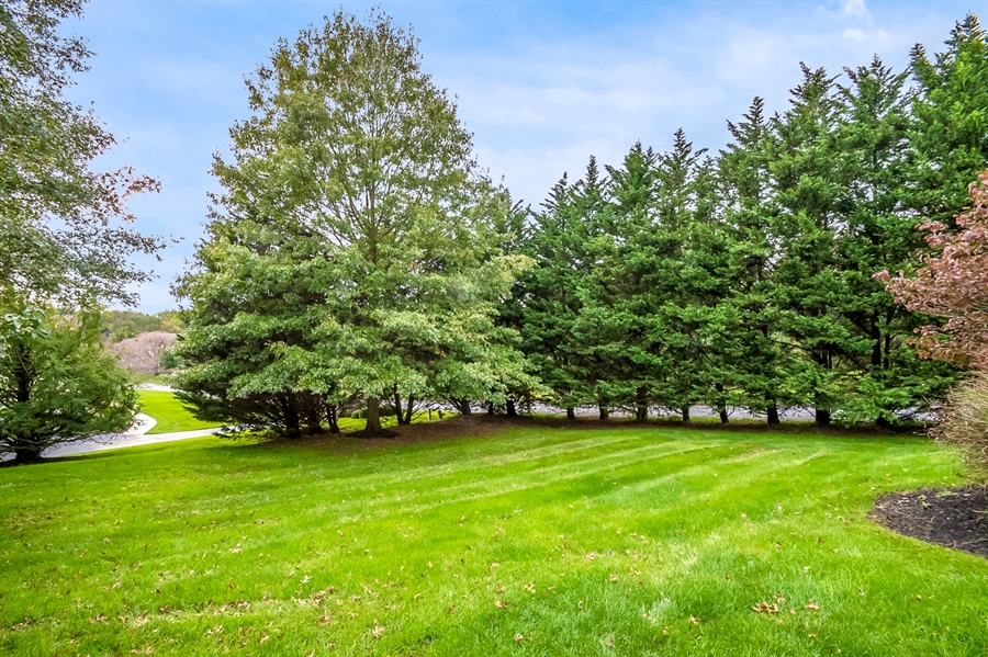 Real Estate Photography - 16 Withers Way, Hockessin, DE, 19707 - Gorgeous Private Back Yard