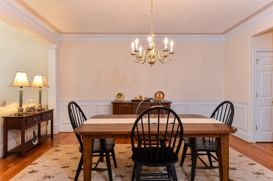 Real Estate Photography - 12 Briarcreek Ct, Newark, DE, 19711 - Formal Dining Room open to Great Room