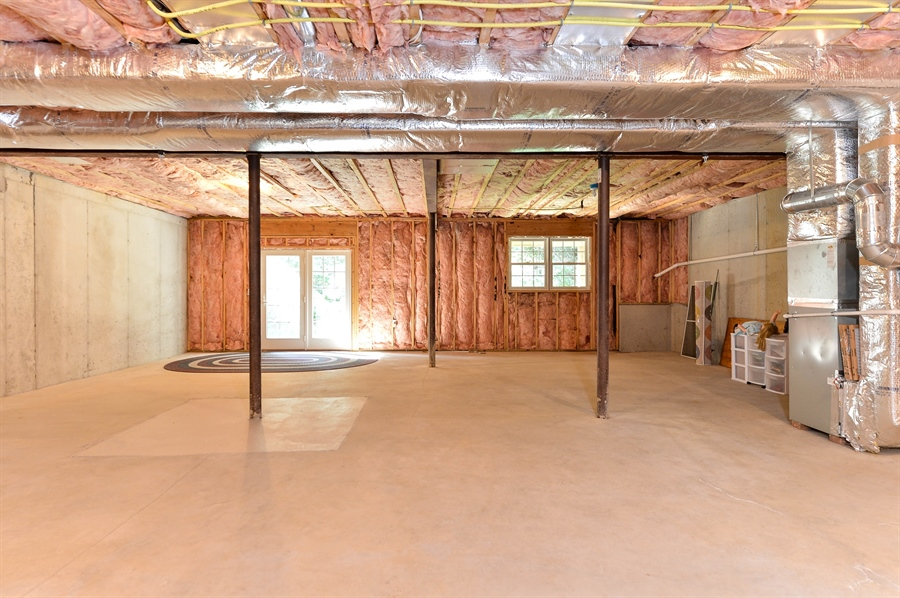 Real Estate Photography - 12 Briarcreek Ct, Newark, DE, 19711 - Huge walk-out basement with 3rd bath rough-in
