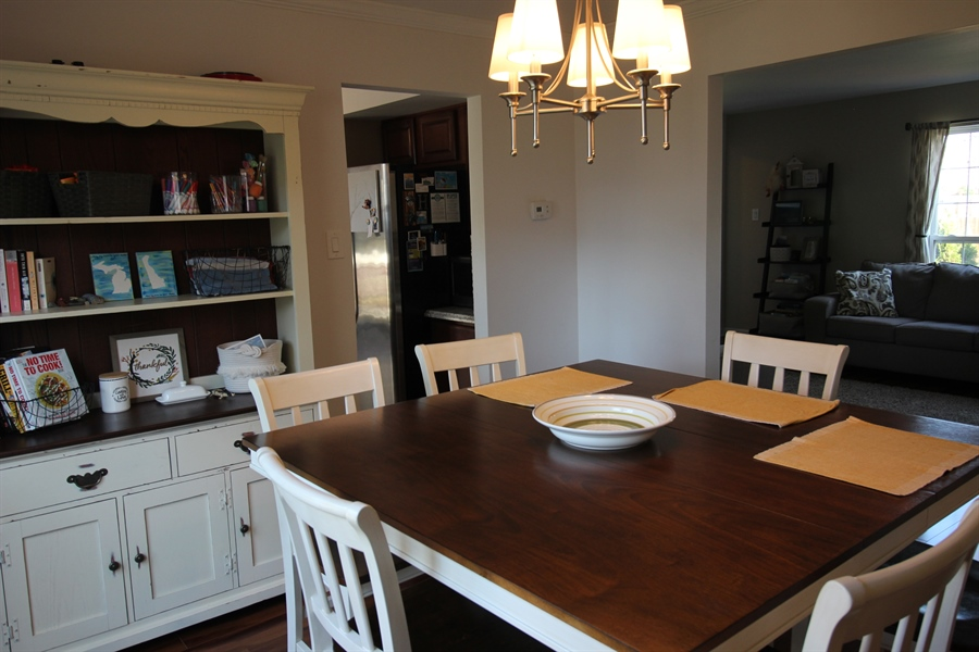 Real Estate Photography - 10 Grady Ln, New Castle, DE, 19720 - Dining Room with Ample Natural  Light