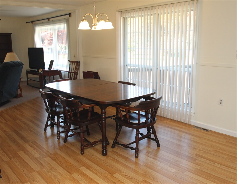 Real Estate Photography - 2512 Oldfield Point Rd, Elkton, MD, 21921 - Dining Room