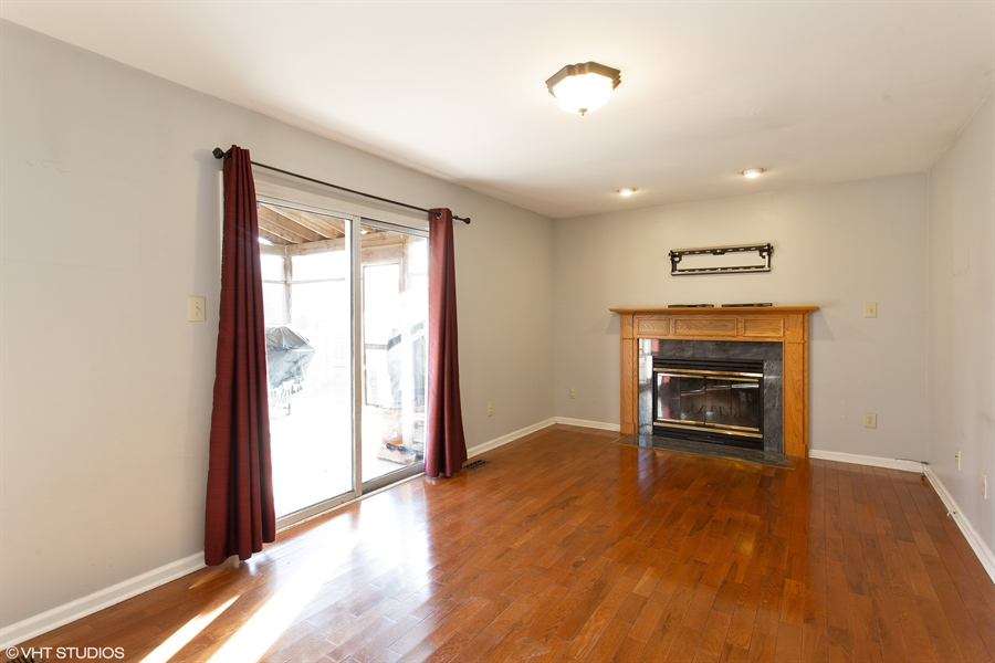 Real Estate Photography - 237 Cheyenne Dr, Bear, DE, 19701 - Family Room with wood burning fireplace